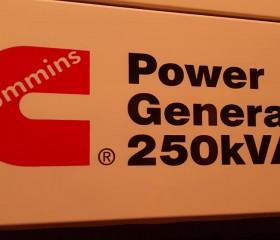 Máy phát điên cũ Cummins Power 250 Kva