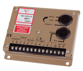ESD5100 SERIES (CE)- ANALOG GOVERNORS