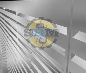 Mô phỏng thiết kế 3D phòng cách âm máy phát điện