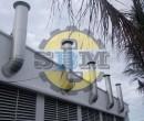 Ống khói máy phát điện D300, 3mm