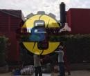 Vỏ cách âm máy phát điện Himoinsa 1600 Kva