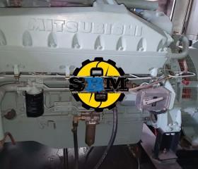 Máy phát điện cũ Mitsubishi 900 Kva
