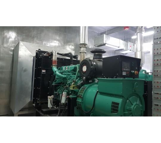 Hộp tiêu âm gió máy phát điện 1100 Kva