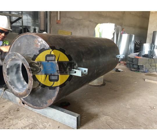 Ống Bô (Pô) Tiêm âm máy phát điện 900 Kva