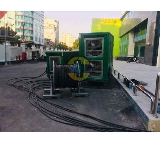 Thử tải máy phát điện 550 Kva Kva
